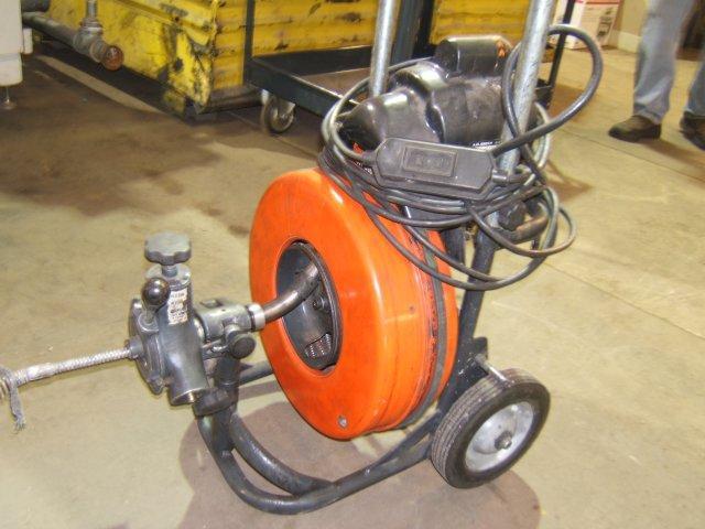 machine augers plumbing